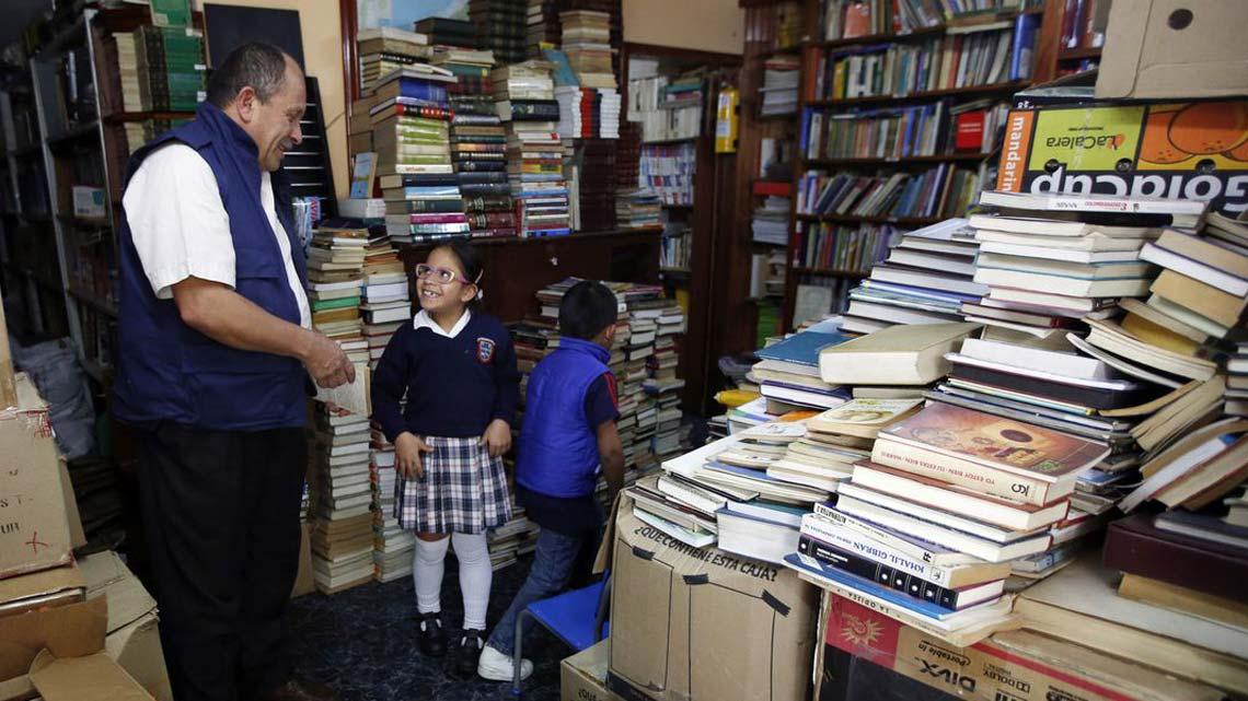 کتابخانه خوزه آلبرتو گوتیرز، رفتگر کلمبیایی