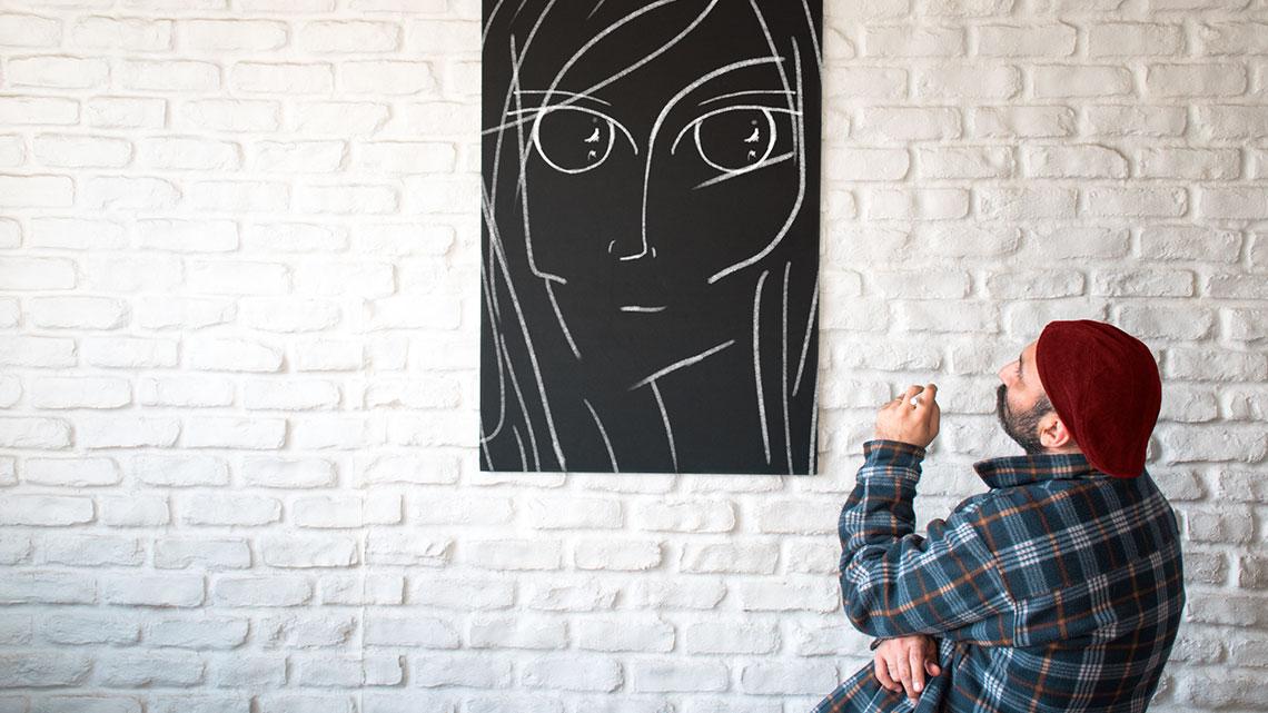 بزرگ علوی، چشمهایش و داستان ایرانی