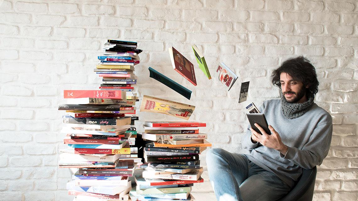 کتاب الکترونیکی و کتابخوان از نگاه کاربران طاقچه