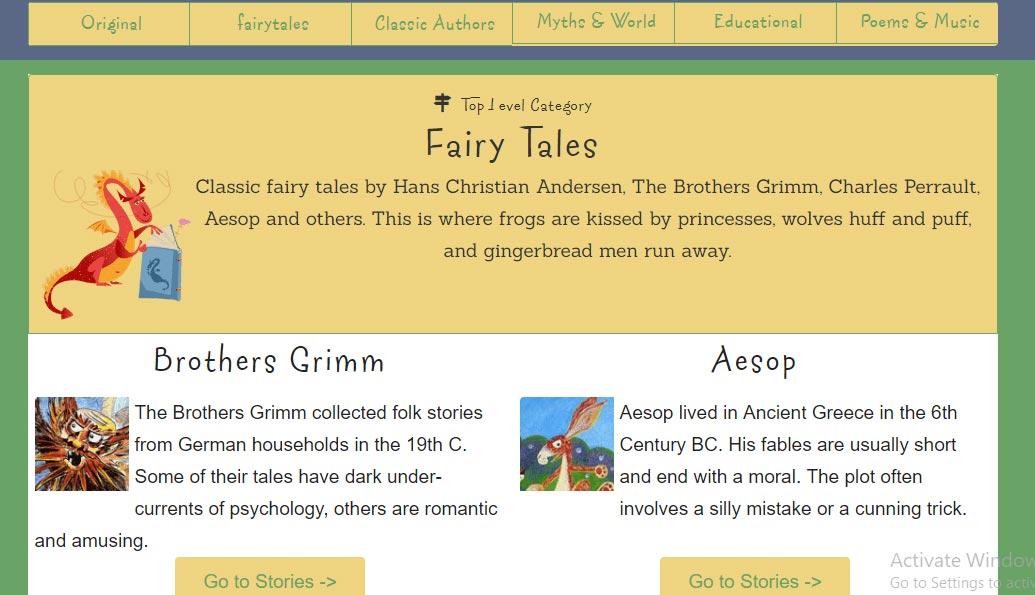 کتاب صوتی رایگان انگلیسی برای بچهها