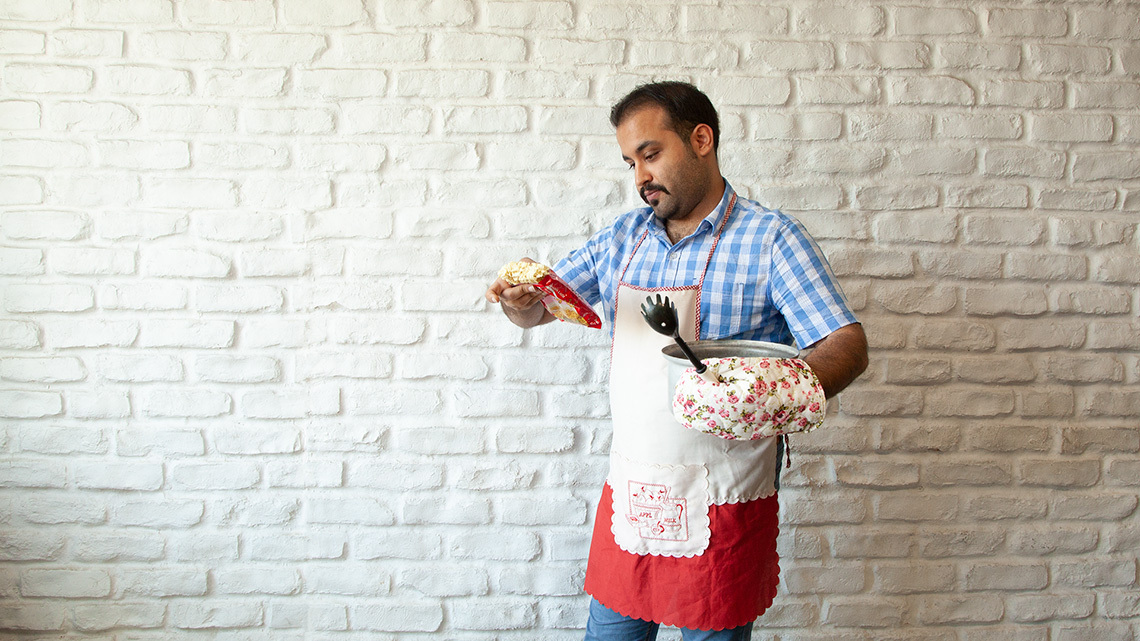 چگونه آشپزی یاد بگیریم؟
