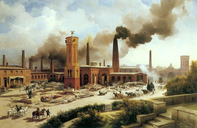 انقلاب صنعتی در برلین