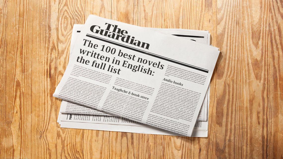معرفی صد کتاب برتر جهان به انتخاب مجلهی گاردین