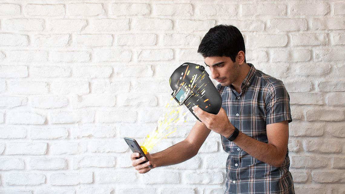 ۶ راه برای محافظت از چشم هنگام کار با موبایل