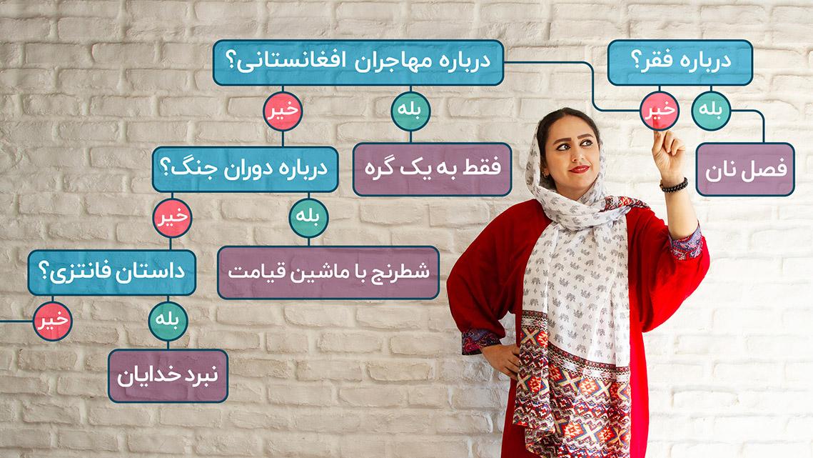 رمان و داستان ایرانی را با چه کتابی شروع کنیم؟|اینفوگرافیک